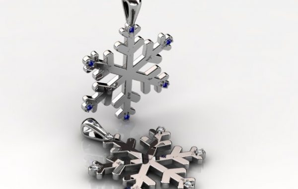 Snow Flake Pendant