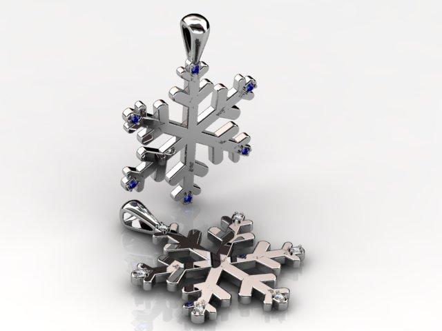 Snow Flake Pendant