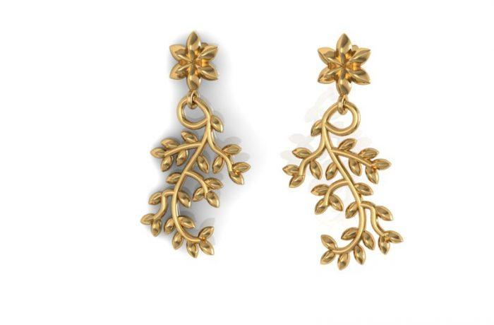 Summer Leaf Earrings